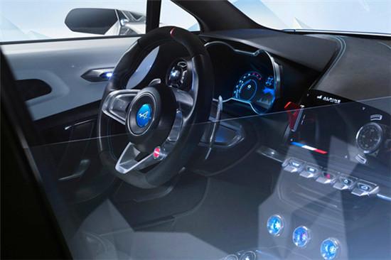 雷诺发布Alpine Vision概念车 量产车年底问世