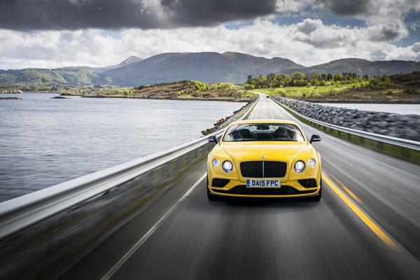 宾利欧陆GT V8 S:凝固规则