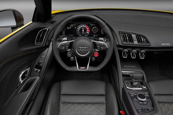 奥迪全新R8 V10 Spyder 亮相纽约车展
