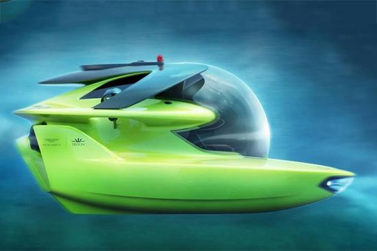采用气泡式压力船体设计,让乘坐者有足够的视野观赏水中的广阔世界.