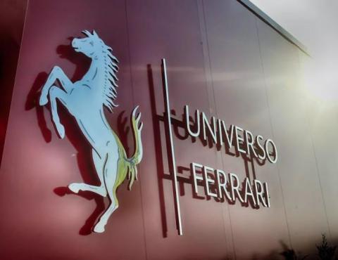 """""""跃马世界""""(Universo Ferrari)特展闪耀启幕"""